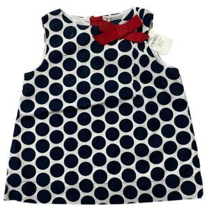Gap 12-18 Months Girls NWT Polka Dot Dress